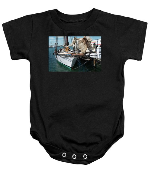 Key West Appledore Sailboat Baby Onesie