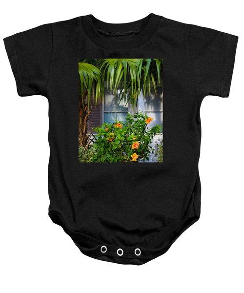 Key West Garden Baby Onesie