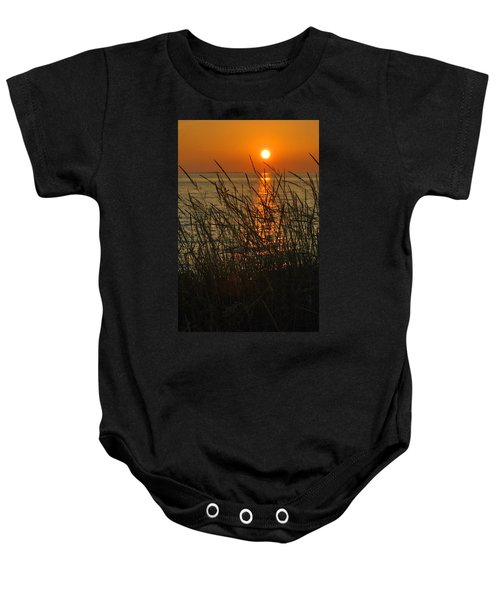 Key West Sunset Baby Onesie