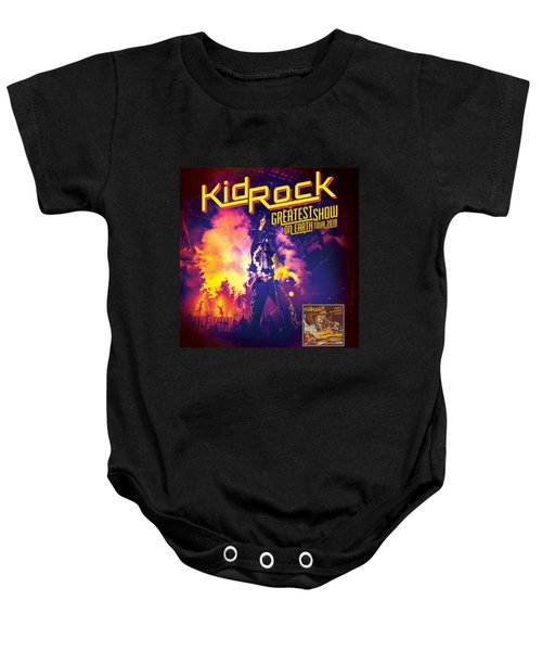 Kid Rock The Greatest Show On Earth 2018 Tour Baby Onesie