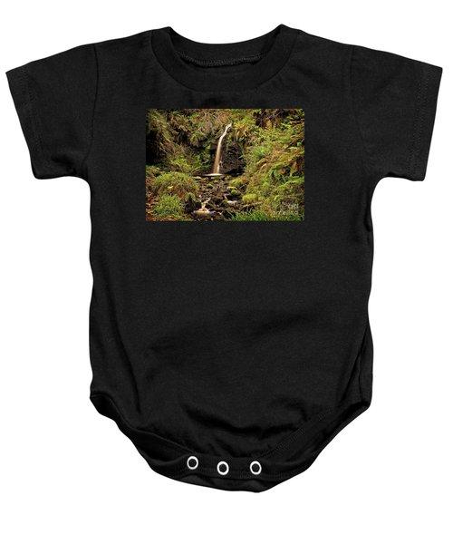 Kielder Forest Waterfall Baby Onesie