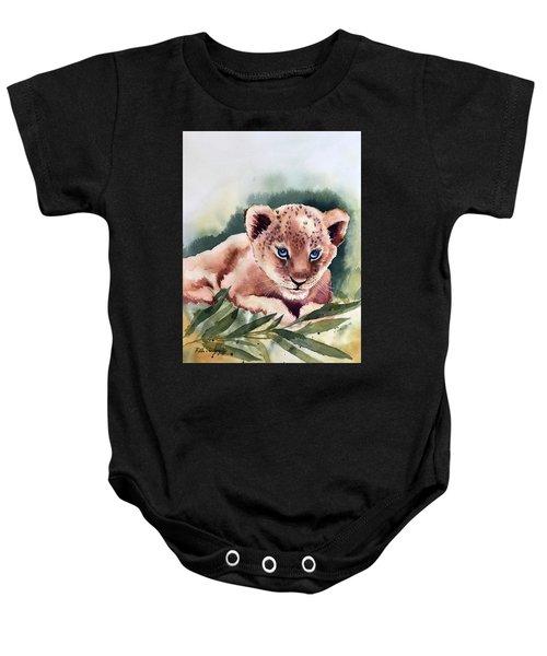 Kijani The Lion Cub Baby Onesie