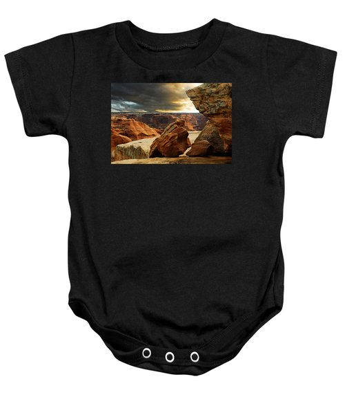 Kissing Rocks Baby Onesie