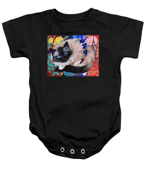 Kitty Goes To Paris Baby Onesie