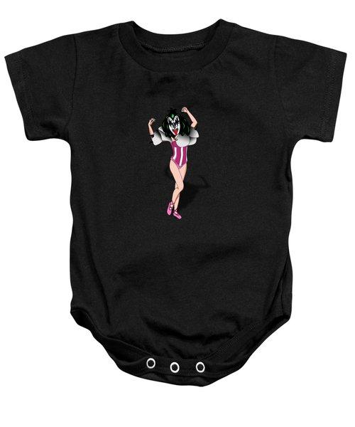 Kizz Ballet Ballerina Baby Onesie