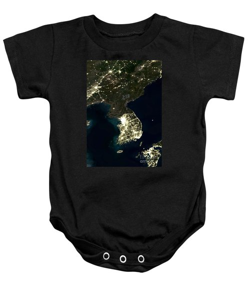 Korean Peninsula Baby Onesie