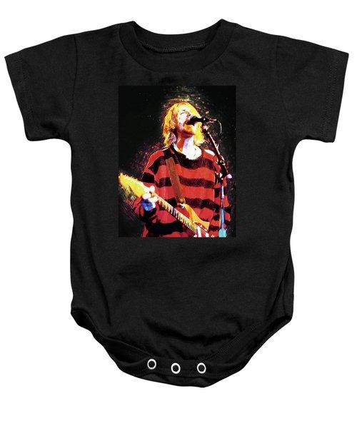 Kurt Cobain Baby Onesie
