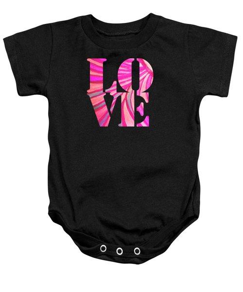 L O V E  Baby Onesie