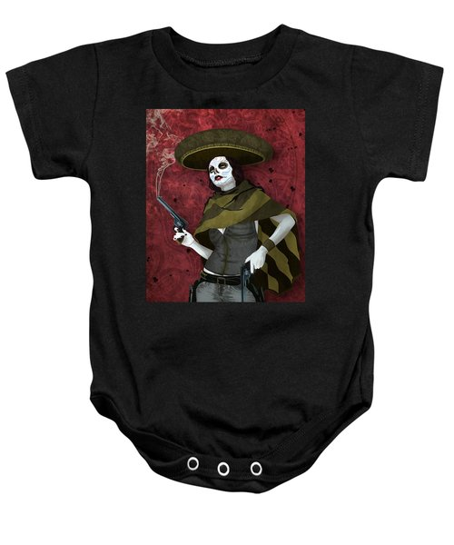 La Bandida Muerta Baby Onesie