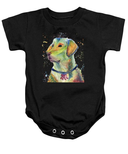 Labrador Retriever Art Baby Onesie
