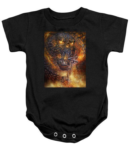 Lady And Skull Baby Onesie