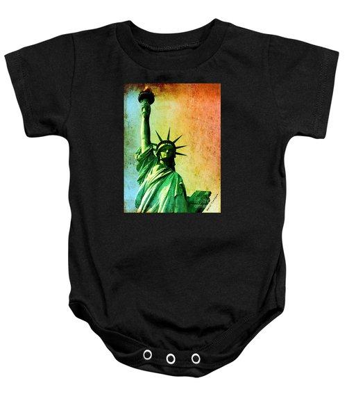 Lady Liberty Baby Onesie