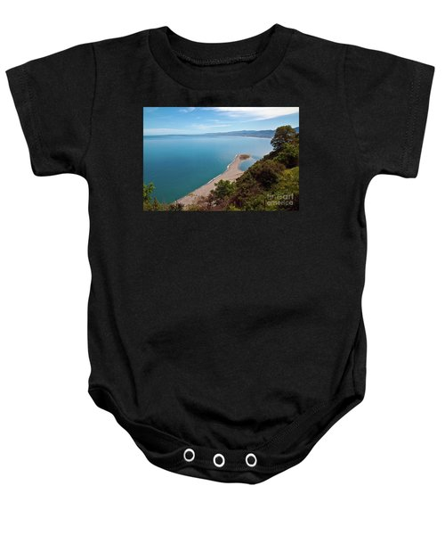 Lagoon Of Tindari On The Isle Of Sicily  Baby Onesie