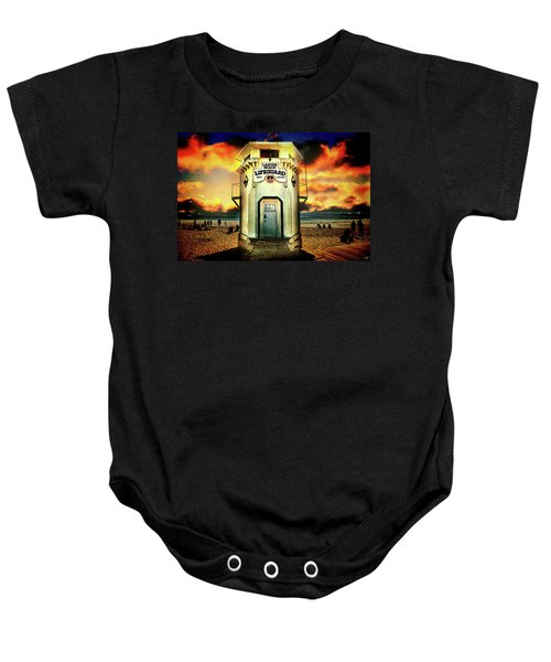 Laguna Beach Lifeguard Hq Baby Onesie