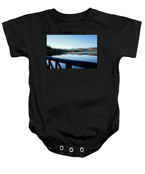 Lake Chocorua Autumn Baby Onesie