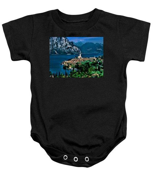 Lake Garda Baby Onesie