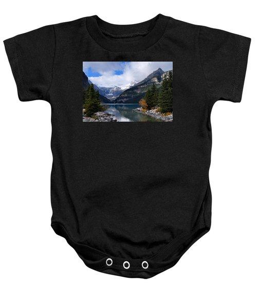 Lake Louise Baby Onesie