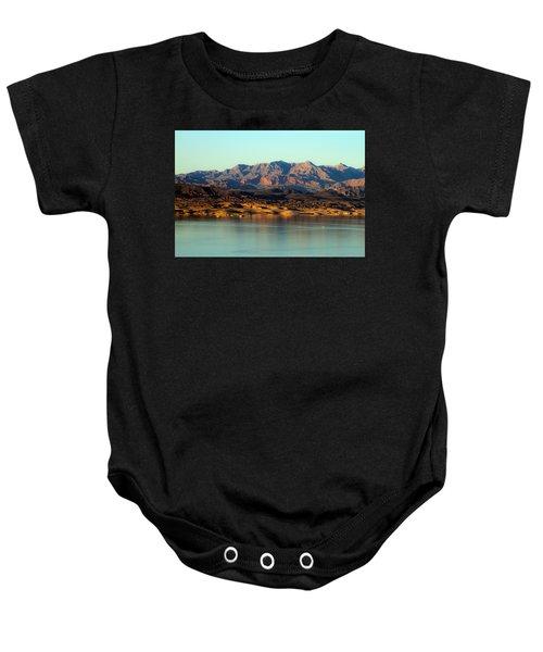 Lake Mead Before Sunset Baby Onesie