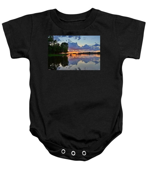 Lake Murray Sc Reflections Baby Onesie