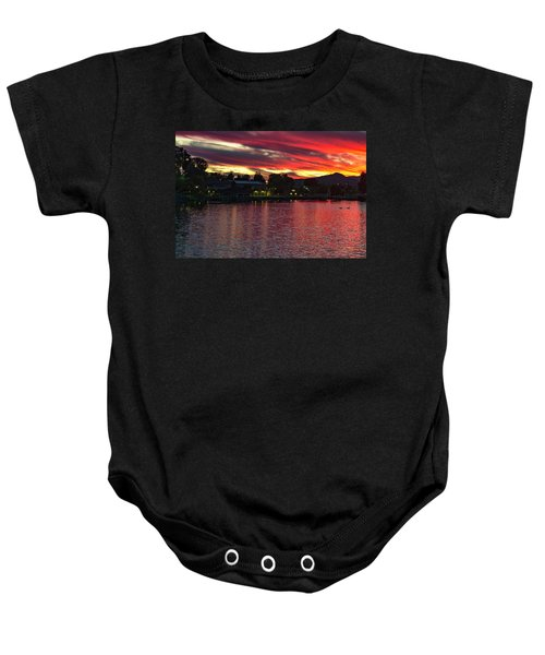 Lake Of Fire Baby Onesie