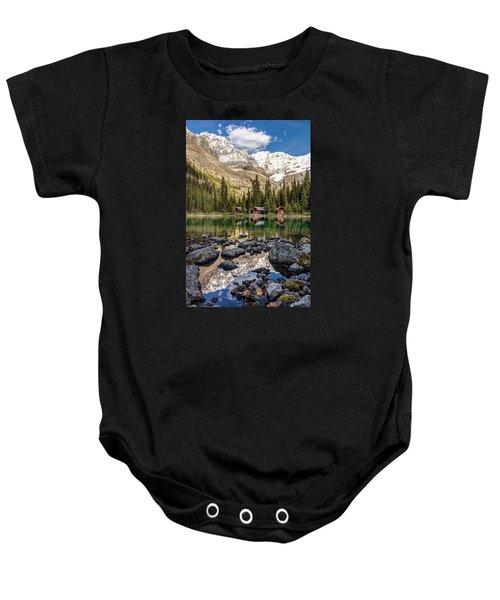 Lake O'hara Lodge Baby Onesie