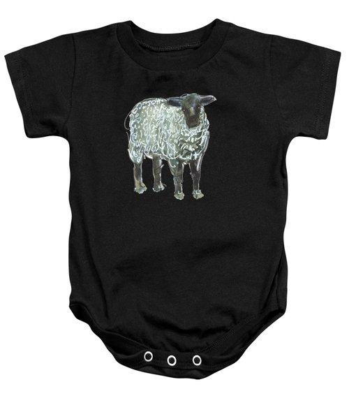 Lamb Art An032 Baby Onesie