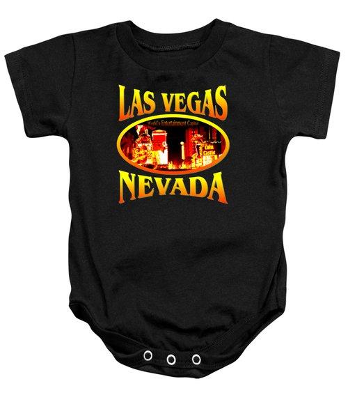 Las Vegas Nevada Design Baby Onesie