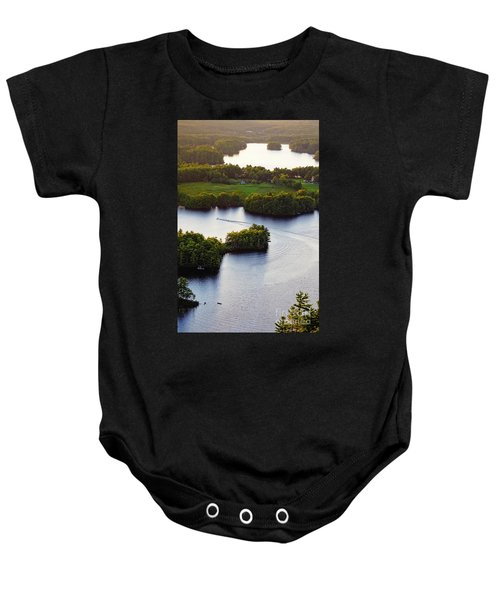 Late Afternoon On Lake Megunticook, Camden, Maine -43988 Baby Onesie