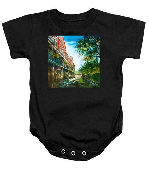 Late Afternoon On The Square Baby Onesie
