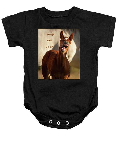 Laugh Out Loud Baby Onesie
