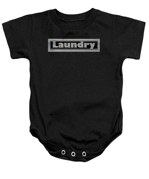 Laundry On Metal Baby Onesie