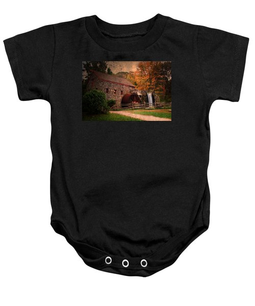 Leave A Light On For Me Baby Onesie