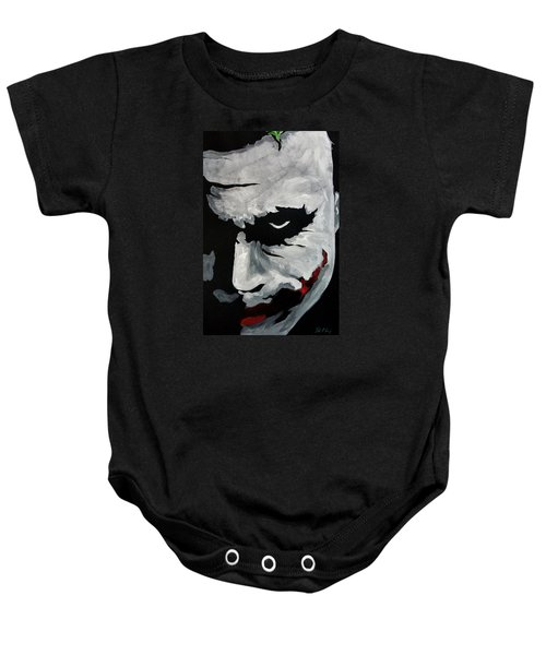 Ledger's Joker Baby Onesie by Dale Loos Jr