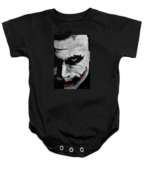 Ledger's Joker Baby Onesie