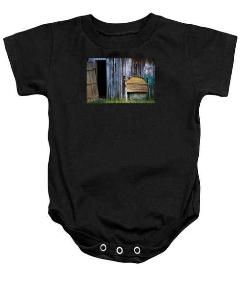 Left Behind Baby Onesie