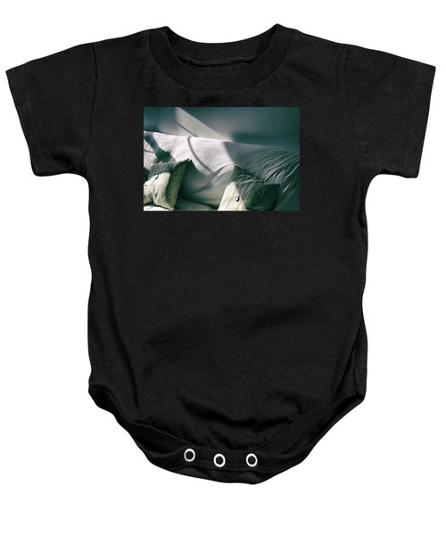 Leftover Light Baby Onesie