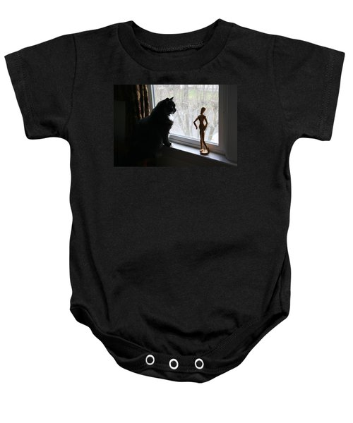 Lesson In Perspective  Baby Onesie