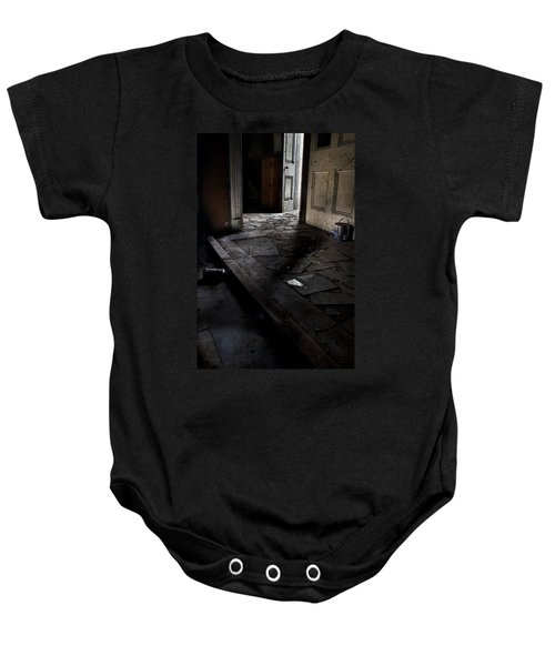 Let The Light In. Baby Onesie