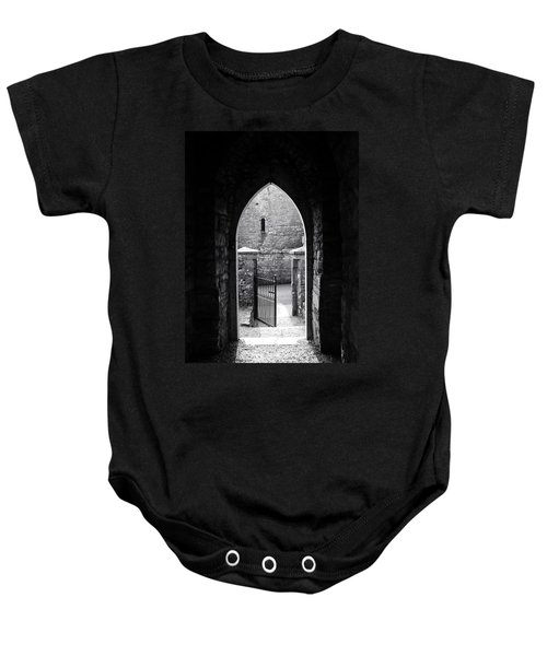 Let There Be Light Cong Church And Abbey Cong Ireland Baby Onesie