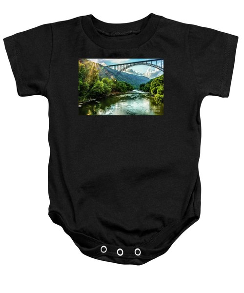 Let Your Light Shine Baby Onesie