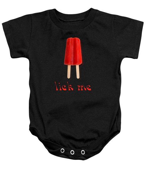 Lick Me Popsicle Tee Baby Onesie