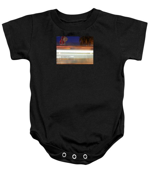 Life In Motion Baby Onesie by Ryan Fox