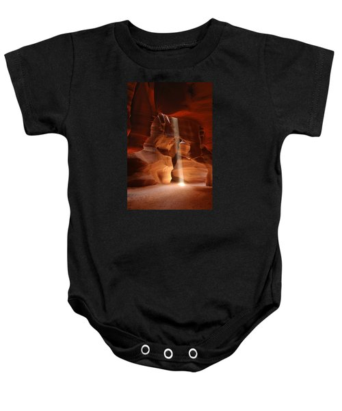 Light From Above Baby Onesie