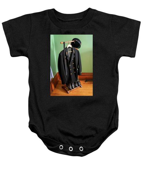 Lighthouse Keeper Uniform Baby Onesie