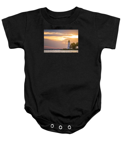 Lighting The Way Baby Onesie