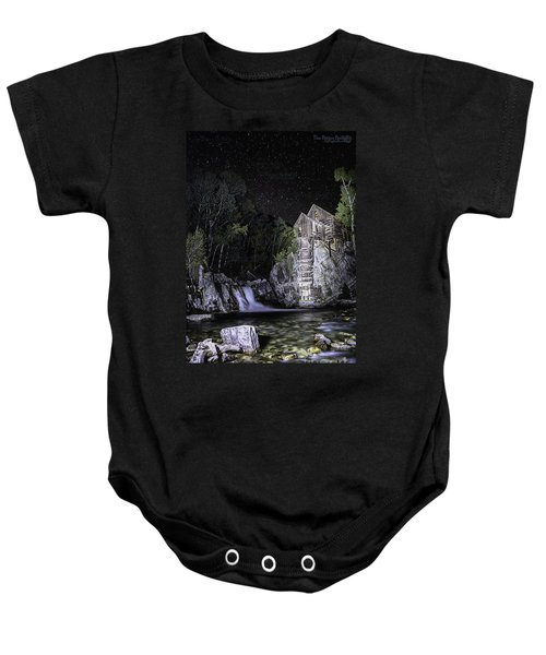 Lights On The Mill Baby Onesie