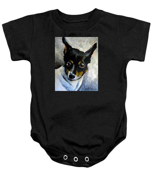 Lil Rat Terrier Baby Onesie