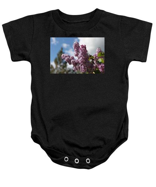 Lilacs 5547 Baby Onesie