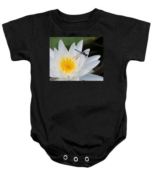 Lily And Dragonfly Baby Onesie