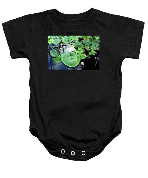Lily Pond Baby Onesie